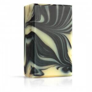 Přírodní designové mýdlo s aktivním uhlím Uhlík Přímo od Včelařky