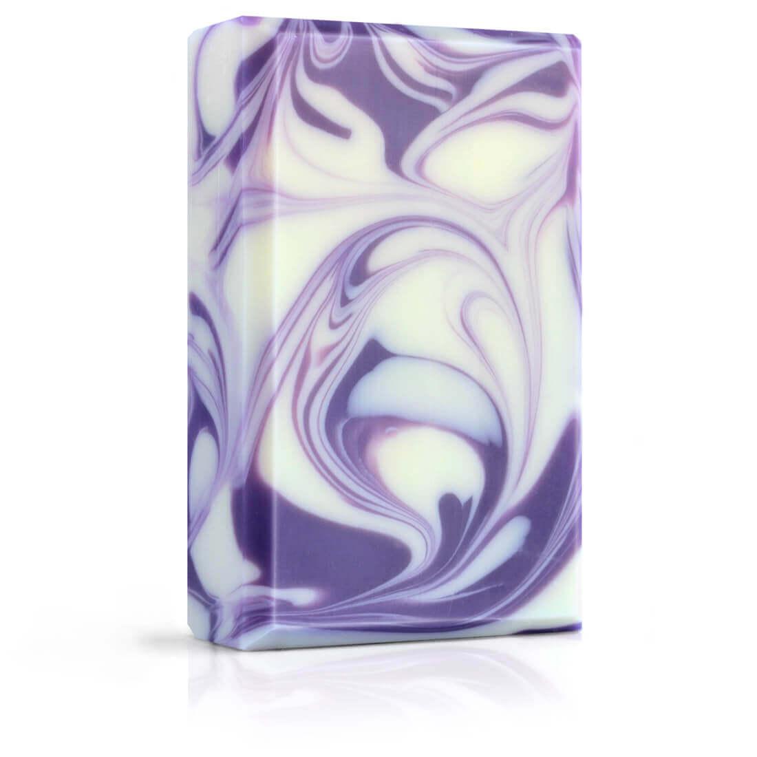 Přírodní designové mýdlo Violet s levandulí Přímo od Včelařky